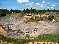 Clay quarry Unterfeld